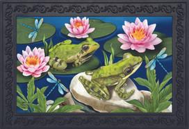 Frog Pond Summer Doormat