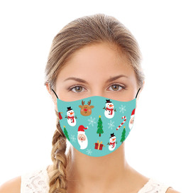 Merry Christmas Reusable Cloth Face Mask