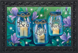 Be A Light To The World Spring Doormat