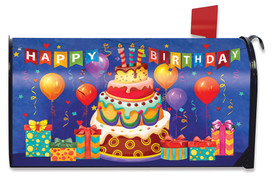 Birthday Celebration Mailbox Cover