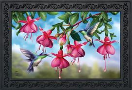 Flight Of The Hummingbirds Spring Doormat