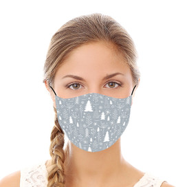 Winter Wishes Reusable Cloth Face Mask