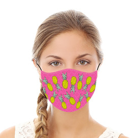 Pineapples Reusable Cloth Face Mask