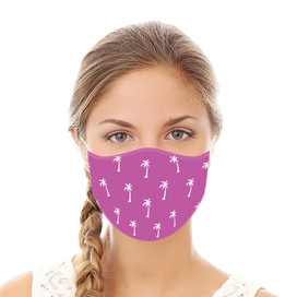 Palm Trees Reusable Cloth Face Mask