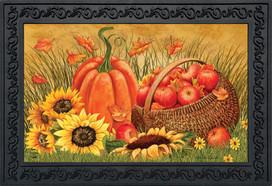 Pumpkin And Apples Fall Doormat