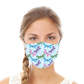 Dragonflies Reusable Cloth Face Mask