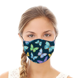 Butterflies Reusable Cloth Face Mask