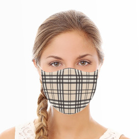 Plaid Reusable Cloth Face Mask