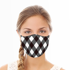 Buffalo Check Reusable Cloth Face Mask