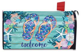 Enjoy Life Flip Flops Summer Mailbox Cover