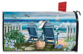 Seaside Escape Summer Mailbox Cover