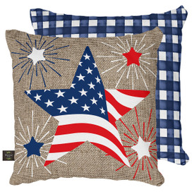 American Star Patriotic Decorative Pillow
