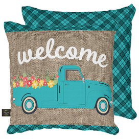 Springtime Pickup Decorative Pillow