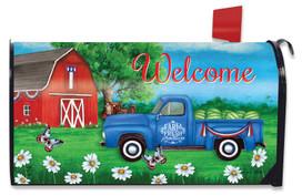 Sunshine Barn Summer Mailbox Cover