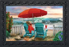Beach Life Summer Doormat