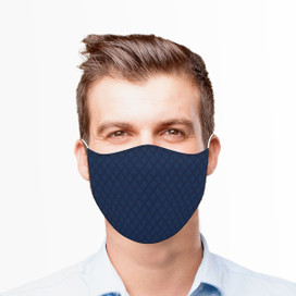 Mod Blue Reusable Cloth Face Mask