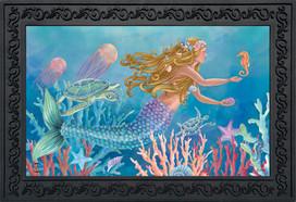 Mermaid Summer Doormat