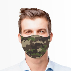 Camouflage Reusable Cloth Face Mask