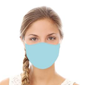 Blue Reusable Cloth Face Mask
