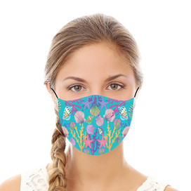 Coastal Reusable Cloth Face Mask