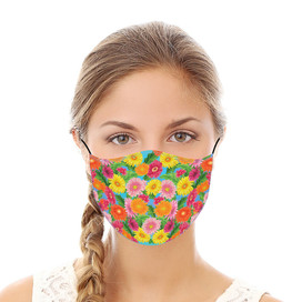 Gerber Daisies Reusable Cloth Face Mask