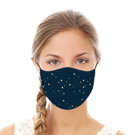 Celestial Stars Reusable Cloth Face Mask