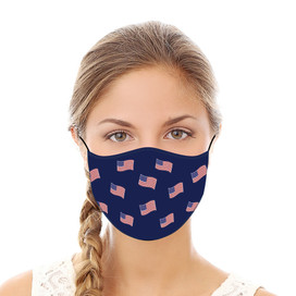 American Flags Reusable Cloth Face Mask