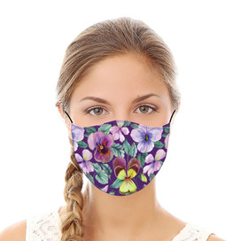 Violas Reusable Cloth Face Mask