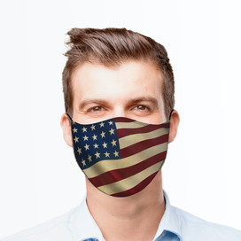 Old Glory Reusable Cloth Face Mask