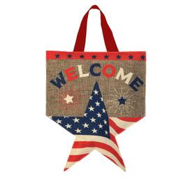 American Star Burlap Door Hanger