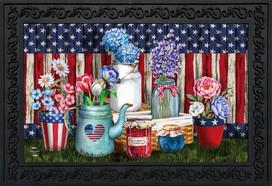 American Picnic Summer Doormat