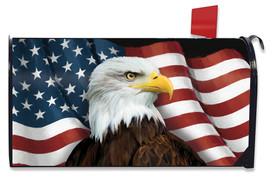 American Eagle Patriotic Mailbox Cover