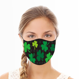 Shamrocks Reusable Cloth Face Mask