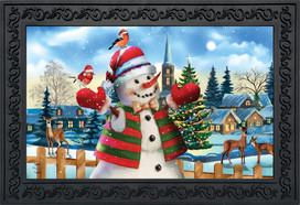 It's Snowing Christmas Doormat