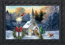 Come All Ye Faithful Winter Doormat