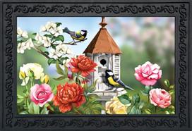 Home Sweet Birdhouse Doormat