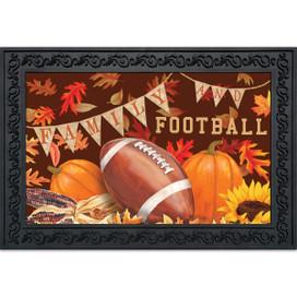 Family & Football Fall Doormat