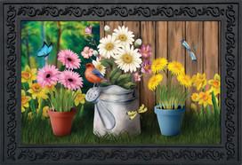 Spring Jubilee Floral Doormat
