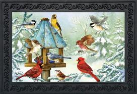 Cold Feet, Warm Hearts Winter Doormat