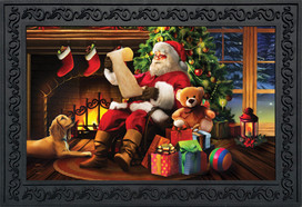 Naughty or Nice Christmas Doormat