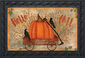 Prized Pumpkin Autumn Doormat