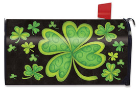 Happy St. Patrick's Day Large / Oversized Mailbox Cover