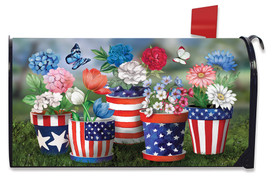 America In Bloom Mailbox Cover