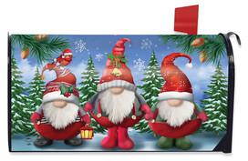 Winter Gnomes Christmas Mailbox Cover