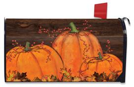 Rustic Pumpkin Patch Fall Mailbox Cover