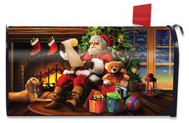 Naughty or Nice Christmas Mailbox Cover