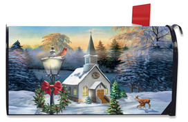 Come All Ye Faithful Winter Mailbox Cover