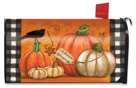 Rustic Pumpkins Fall Mailbox Cover