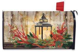 Holiday Lantern Christmas Mailbox Cover