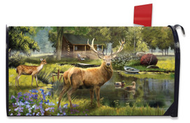 Great Outdoors Summer Mailbox Cover